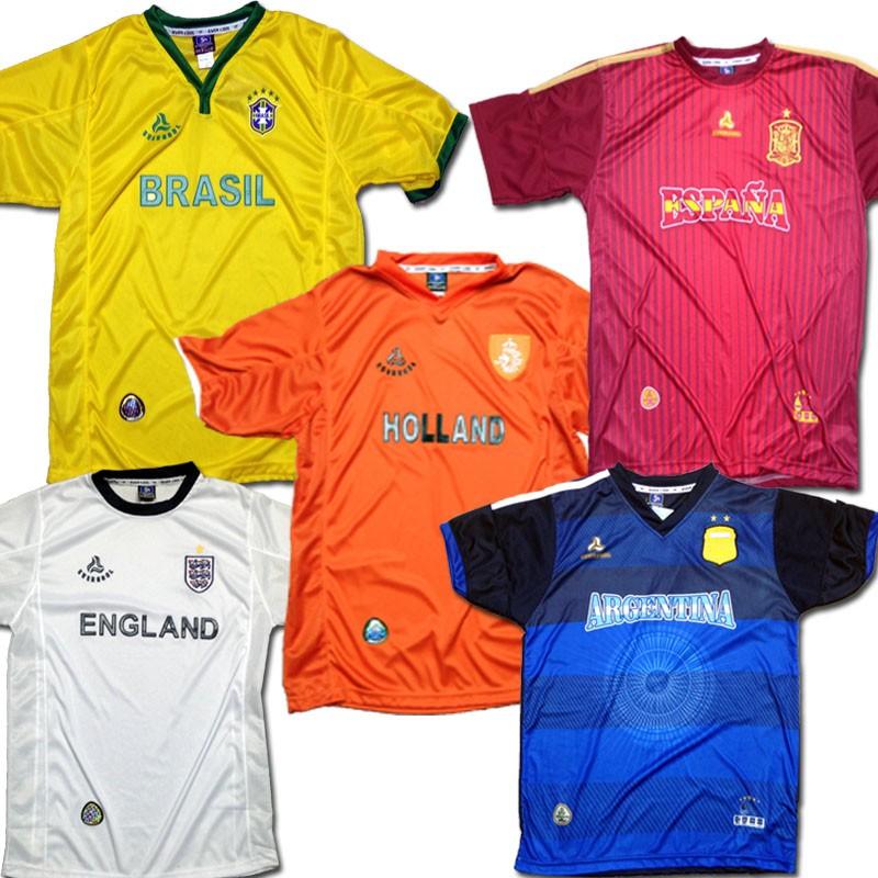 Wholesale Soccer jerseys 6pcs Prepacked - TB Wholesaler