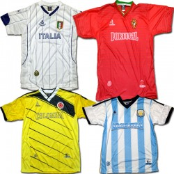 Wholesale Soccer jerseys 6pcs Prepacked