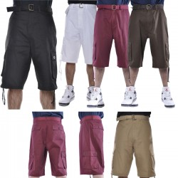 Wholesale Clay Men's Cargo Shorts 6pc Pre-packed