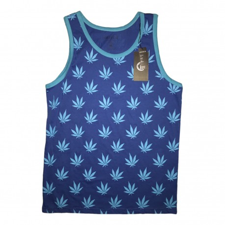 Men's Switch Weed Plant Tank Tops 6pc Pre-packed