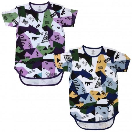Men's Bleecker & Mercer Crew Neck Long Fit T-Shirt 6pc Pre-packed