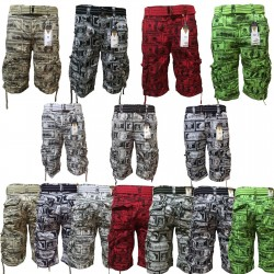 6a170f7a33 Wholesale Focus Money Style Cargo Shorts 6pc Pre-packed