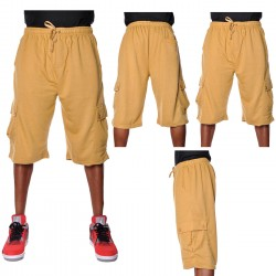Wholesale THC Cotton Cargo Shorts 6pc Pre-packed