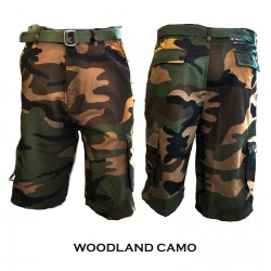 Wholesale Amillion Camo Cargo shorts 6pcs prepacked