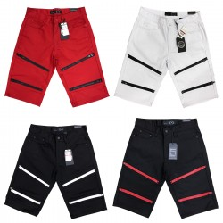 Wholesale Maxi Milian Biker Men's Shorts 12pcs Pre-packed