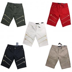 Wholesale Maxi Milian Men's Shorts w/ Zipper 12pcs Pre-packed