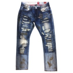 Wholesale Men's Switch Distressed Jeans 12pcs Pre-packed