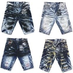 Men's 22oz Distressed Denim Shorts 12pcs Pre-packed
