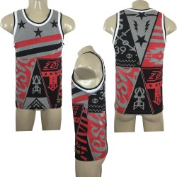Wholesale Square Zero Tank Tops 6pcs Pre-packed