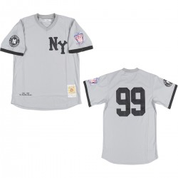 Headgear Classics New York Yankees Jersey Grey/Black 6pcs Pre-packed