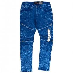Wholesale Men's Copper Rivet Fashion Jeans 12 Piece Pre-packed