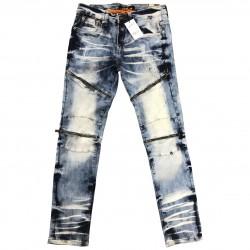 Wholesale Men's Copper Rivet Jeans 12pcs Pre-packed