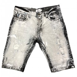 Wholesale Men's Copper Rivet Denim Shorts 12pcs Pre-packed