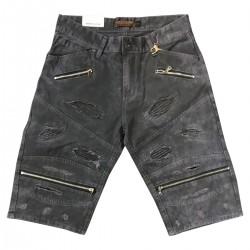 Wholesale Men's Focus Denim Shorts 12 pieces Pre-packed