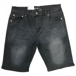 Wholesale Men's Royal Blue Fashion Denim Shorts 12 pieces Pre-packed