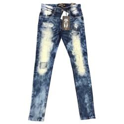 Wholesale Men's Copper Rivet Jeans 12pcs prepacked