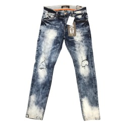 Wholesale Men's Copper Rivet Jeans 12pcs prepacked