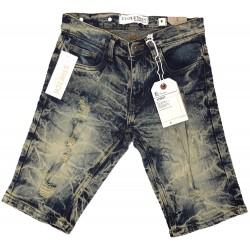 Wholesale Kids Evolution Distressed Denim Shorts 12pcs prepacked