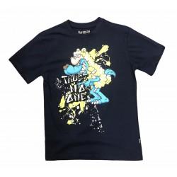 Wholesale Men's Black Pike Fashion T-Shirts 6pcs Pre-packed