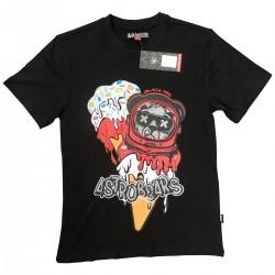Wholesale Men's Black Pike Fashion T-Shirts 8pcs Pre-packed